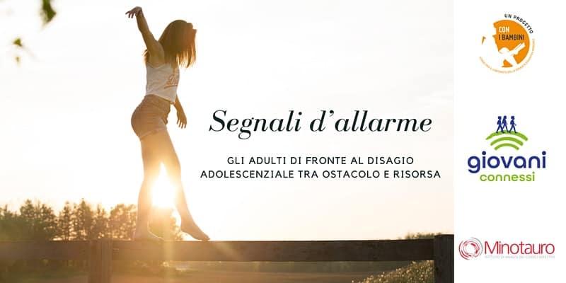 [PODCAST DISPONIBILE] SEGNALI D'ALLARME: GLI ADULTI DI FRONTE AL DISAGIO ADOLESCENZIALE, con Dario Cuccolo e Alessia Lanzi – martedì 14 luglio 2020 alle 15.00