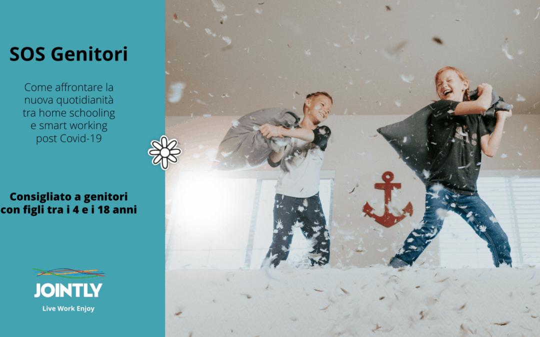 """JOINTLY: CICLO """"SOS Genitori"""" 14 luglio, 19.00 – FACCIAMO UN BILANCIO, Con Katia Provantini e Alessia Lanzi"""