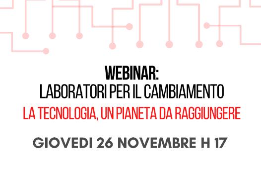 """NUOVO MENTORING! 26 novembre 2020, ore 17,00: """"LA TECNOLOGIA, UN PIANETA DA RAGGIUNGERE"""" con Giovanni Marenco, esperto di nuove tecnologie"""