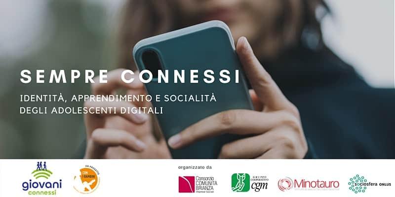"""[PODCAST DISPONIBILE] ascolta il WEBINAR """"SEMPRE CONNESSI: identità, apprendimento e socialità degli adolescenti digitali"""" con Gregorio Magri (Minotauro) e Paolo Ferri (UniMi-Bicocca)"""